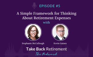 A Simple Framework for Thinking About Retirement Expenses